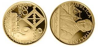 Baza monet EXG - 20 Euro: 100 years Nobel prize Guglielmo Marc