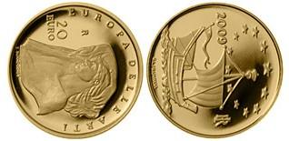 Baza monet EXG - 20 Euro: Edward Burne-Jones
