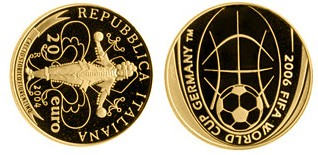 Baza monet EXG - 20 Euro: FIFA 2006 in Germany 2004