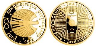 Baza monet EXG - 100 Euro: FIFE 2006