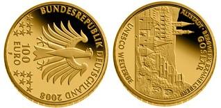Baza monet EXG - 100 Euro: UNESCO Welterbe Goslar