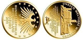 Baza monet EXG - 20 Euro Deutscher Wald: Buche