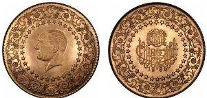 Baza monet EXG - Ziynet: 250 Piastrów/ 2 1/2 Lira
