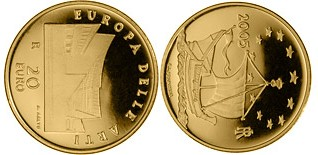 Baza monet EXG - 20 Euro: Europe of the Arts - Alvar Aalto