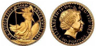 Baza monet EXG - 50 GBP Britannia 1/2 oz