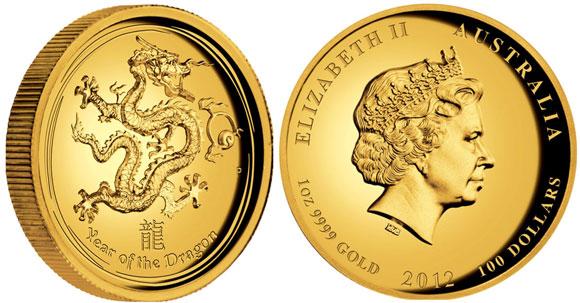 Baza monet EXG - Lunar Year 100 AUD 1oz