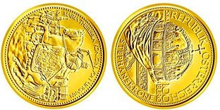 Baza monet EXG - 100 Euro Crowns of the Habsburg 2010