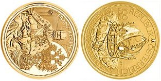 Baza monet EXG - 100 Euro Crowns of the Habsburg 2012