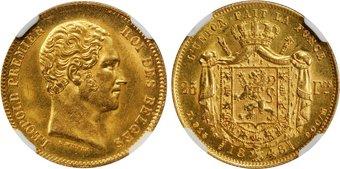Baza monet EXG - 25 Franków