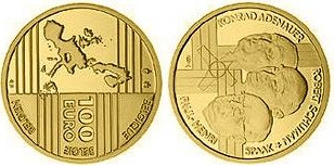 Baza monet EXG - Gold 100 Euro 2002