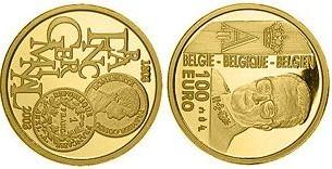 Baza monet EXG - Gold 100 Euro 2003
