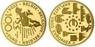 Baza monet EXG - Gold 100 Euro 2004