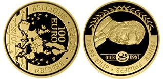 Baza monet EXG - Gold 100 Euro 2010