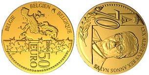 Baza monet EXG - Gold 50 Euro coins 2004