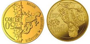 Baza monet EXG - Gold 50 Euro coins 2006