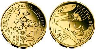 Baza monet EXG - Gold 50 Euro coins 2007