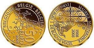 Baza monet EXG - Gold 50 Euro coins 2008