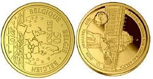 Baza monet EXG - Gold 50 Euro coins 2010