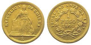 Baza monet EXG - 1 Peso