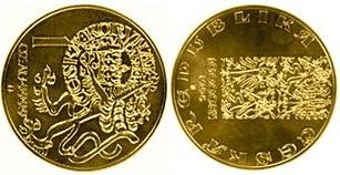 Baza monet EXG - 10.000 CZK Pragergroschen 1996