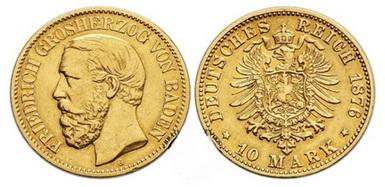 Baza monet EXG - 10 Marek