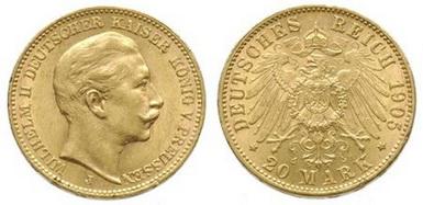 Baza monet EXG - 20 Marek
