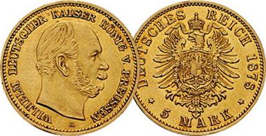 Baza monet EXG - 5 Marek