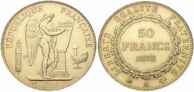 Baza monet EXG - 50 Franków