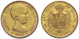 Baza monet EXG - 20 Peso
