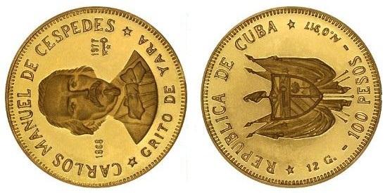 Baza monet EXG - 100 Pesos