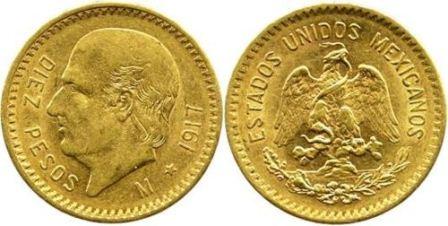Baza monet EXG - 10 Pesos