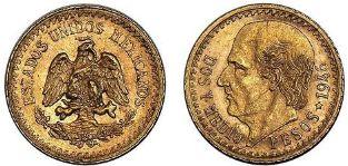 Baza monet EXG - 2 1/2 Pesos