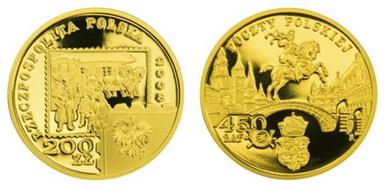 Baza monet EXG - 200 Zł 1997-2013