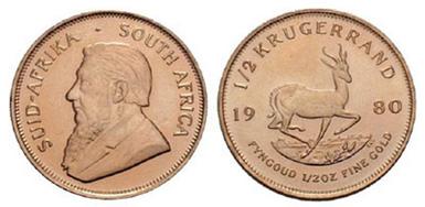 Baza monet EXG - 1/2 Krugerrand