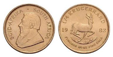 Baza monet EXG - 1/4 Krugerrand
