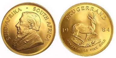 Baza monet EXG - 1 Krugerrand