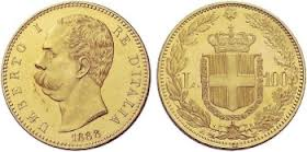 Baza monet EXG - 100 Lirów 1864-1923