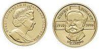 Baza monet EXG - Falklandy Henry Dunant 1/25 Korony