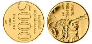 Baza monet EXG - 5.000 HUF Erkel Ferenc