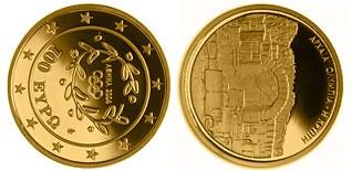 Baza monet EXG - 100 Euro: Crypt of Olympia