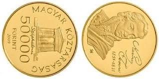 Baza monet EXG - 50.000 HUF Ferenc Liszt
