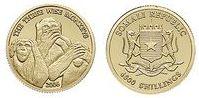 Baza monet EXG - Somalia Trzy mądre małpy 4000 Szylingów