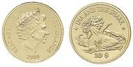 Baza monet EXG - Wyspy Cooka Ina i rekin 10 Dolarów